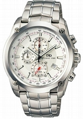 men style fashion stainless steel watch 78001G-1A1