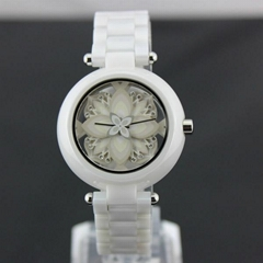 latest fashion ceramic watch for ladies