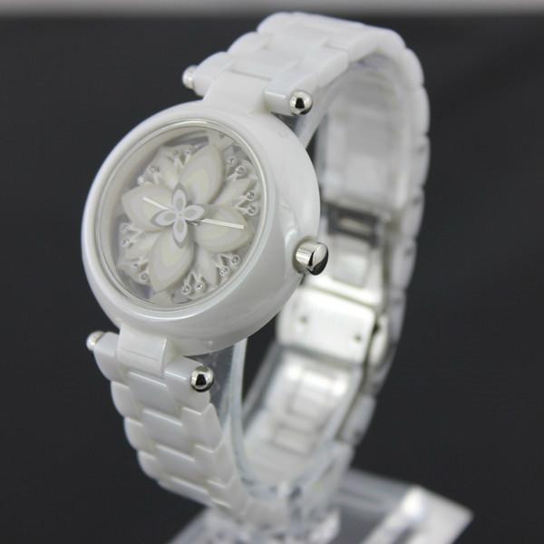 latest fashion ceramic watch for ladies  2
