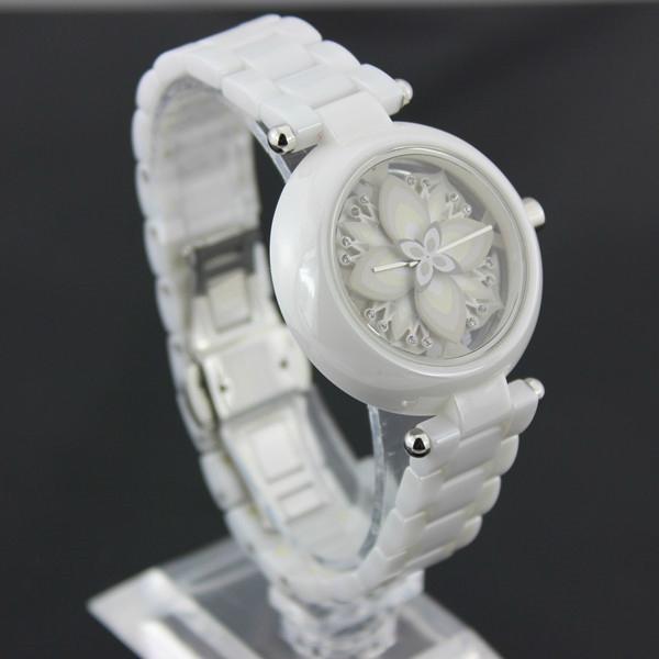 latest fashion ceramic watch for ladies  3