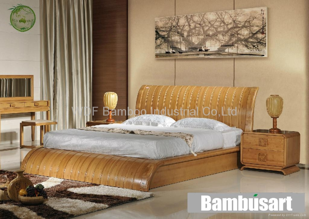 Enjoyable Bedroom Furniture Set Wdf001 Fujian Wdf Bamboo Download Free Architecture Designs Rallybritishbridgeorg