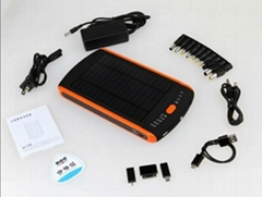 New 23000mAh Solar Power Bank for Laptop 12V 16V 19V