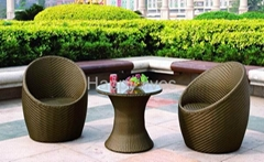 Furniture-Rattan Egg Chair(626)
