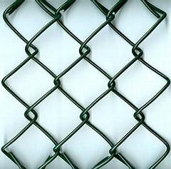 菱形铁丝勾花网