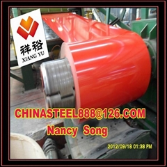 China Manufacture Of Color Coated Steel Roll