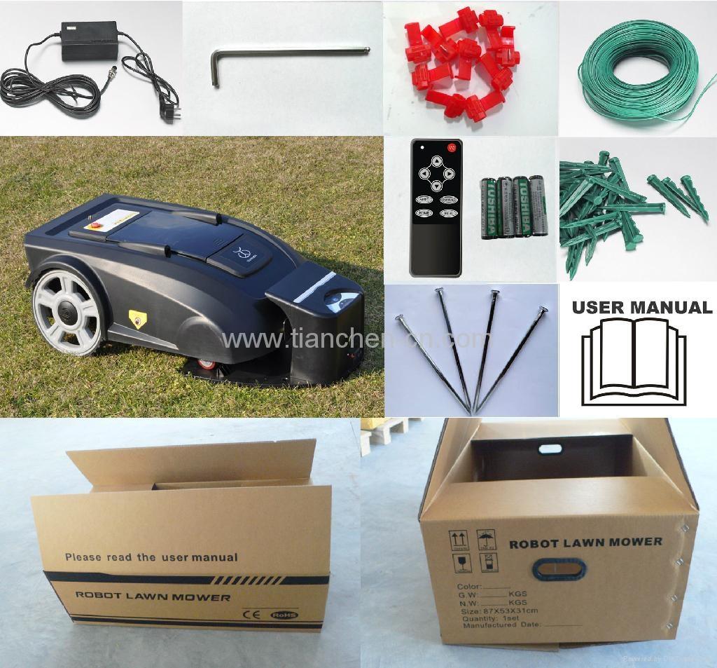 Manfacturer Automatic robot lawn mower L2900 4