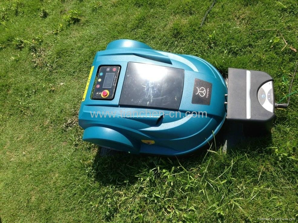 2013 newst style  cordless robot lawn mower S510 2