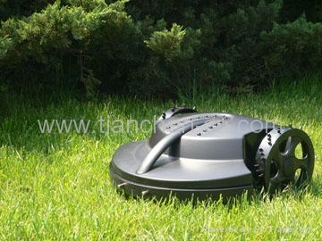 eletrical smart  robot lawn mower TC-G158 with lead-acid battery 1