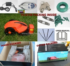 auto re-charing robot garden mower TC-G158 Li