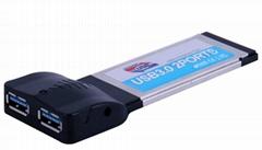 5Gbps 2 Ports USB 3.0 PCI Express Card