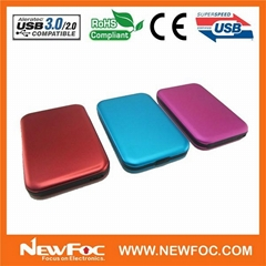 "2.5""SATA USB 3.0 HDD Enclosure hdd case support Hard Disk Drive Up To 1tb"