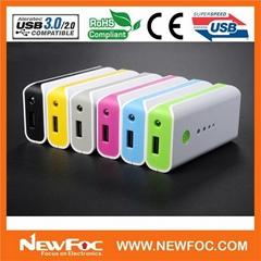 multi color Power bank 4400mAh