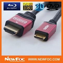 mini HDMI cable to HDMI cable