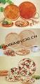 Bamboo round dish / Bamboo salad dish /