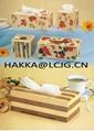 Wooden Tissue / Office Tissue Box/ Craft