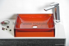 bathroom vessel sink wash basin counter top basin art basin