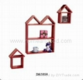 DIY home decorative wooden she  es