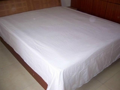 100% polyester microfiber bed sheet set