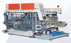 Full automatic glass double edging machine