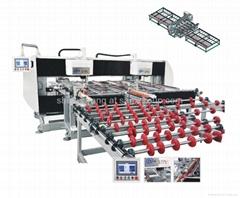 Horizongtal full automatic glass drilling machine