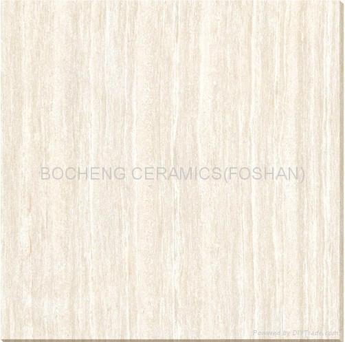 600*600木紋線石拋光磚 1