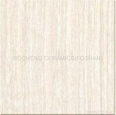 600*600木紋線石拋光磚