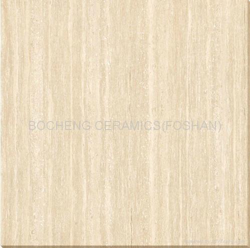 600*600木紋線石拋光磚 4