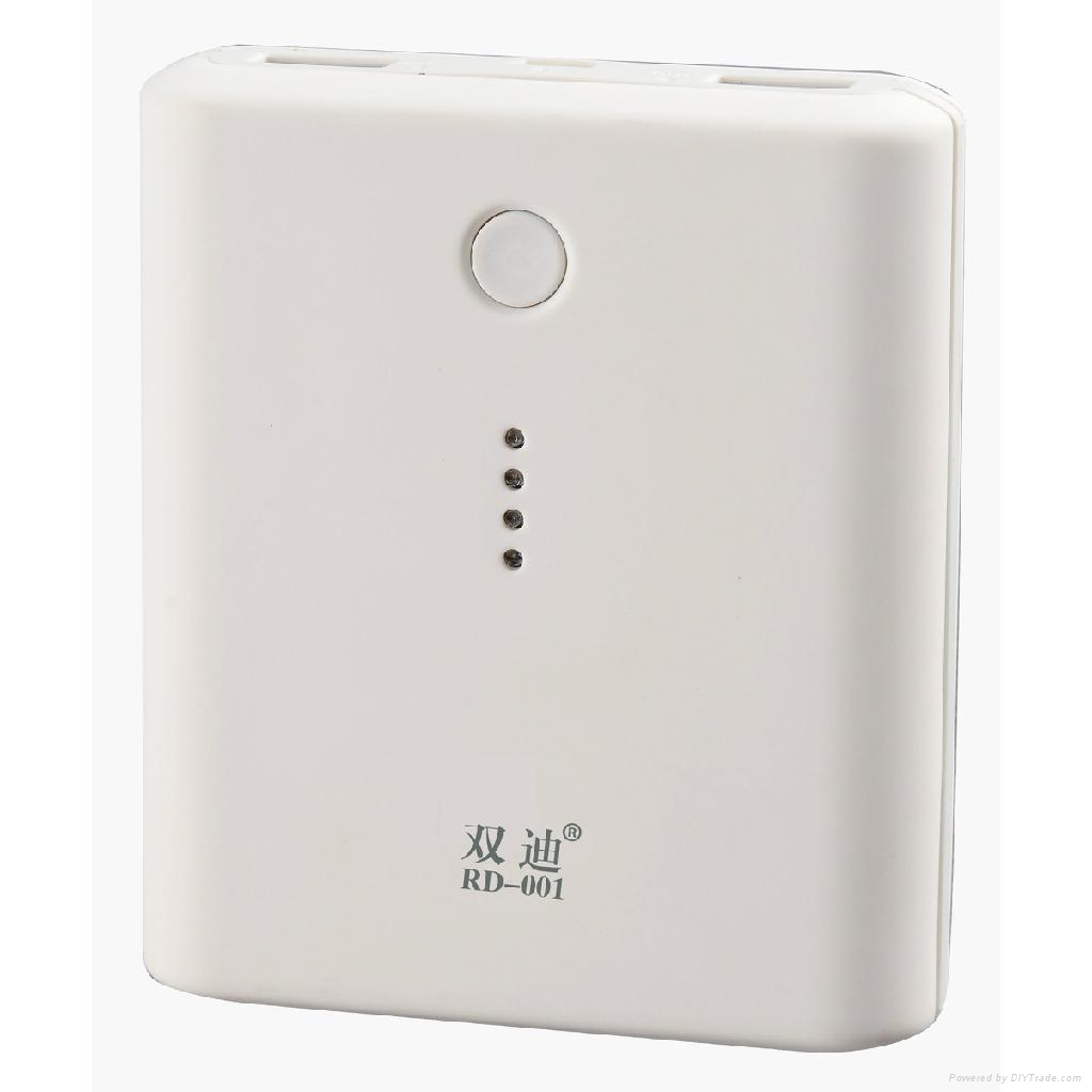 portable power bank dual USB ports 10000mAh external battery charger 2