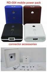 portable power bank 5000mAh low price good quality emergency charger