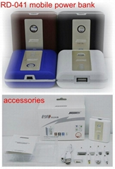 Best seller 5000mAh portable power bank for digital product travel charging use