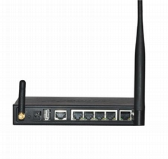 Signshine S3944 industrial 4x Lan HSPA +WIFI Router