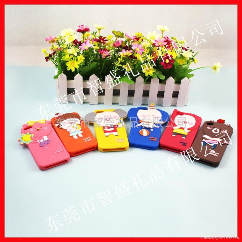 滴胶卡通手机保护套 3