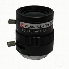 300万像素镜头VM33105MPIR网络摄像机手动光圈镜头