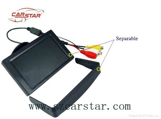 Good product 4.3 inch LCD stand alone monitor T04358 4