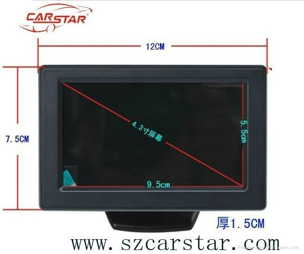 Good product 4.3 inch LCD stand alone monitor T04358 5