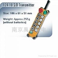 台湾禹鼎起重机遥控器F24-10S
