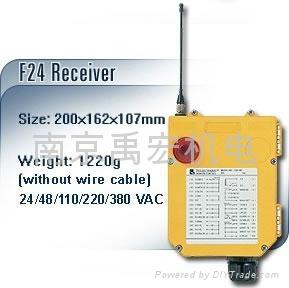 台湾禹鼎起重机遥控器F24-10S 2