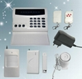 8 zones home security alarm