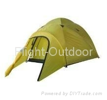 OUTDOOR CAMPING DOUBLE WALL TENT FOR 3 PERSONS