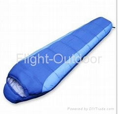 new camping mummy cotton water-proof sleeping bag