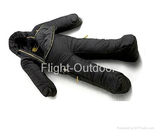 Human Shape  Sleeping Bag 1