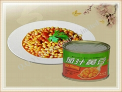 Sell Canned Soy beans in tomato  sauce