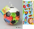 Intelligent 24 pcs Building Block with PET box 1