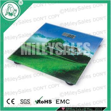 LITHIUM DIGITAL BODY SCALE QE-08C SILK-SCREEN 3