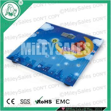 LITHIUM DIGITAL BODY SCALE QE-08C SILK-SCREEN 4