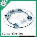 Transparent Glass Bathroom Scale 03A 1