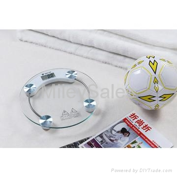 Transparent Glass Bathroom Scale 03A 3