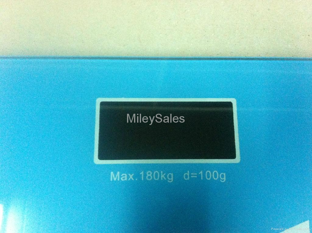 NEW GLASS BATHROOM SCALE (QE-15K) 3