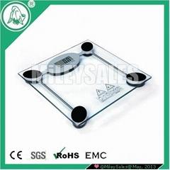 GLASS DIGITAL BODY SCALE 08C