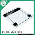 SLIM ELECTRONIC BATHROOM SCALE 12D